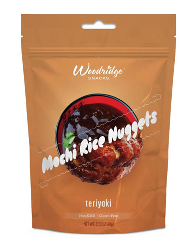 Woodridge Rice Nugget Teriyaki 90g - Fresh Food Enterprises