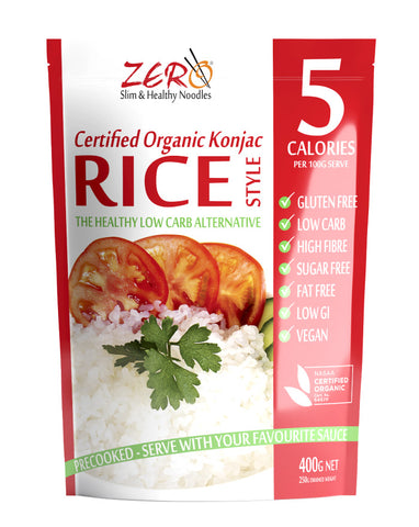 Zero Slim & Healthy Rice Style 400g - Fresh Food Enterprises