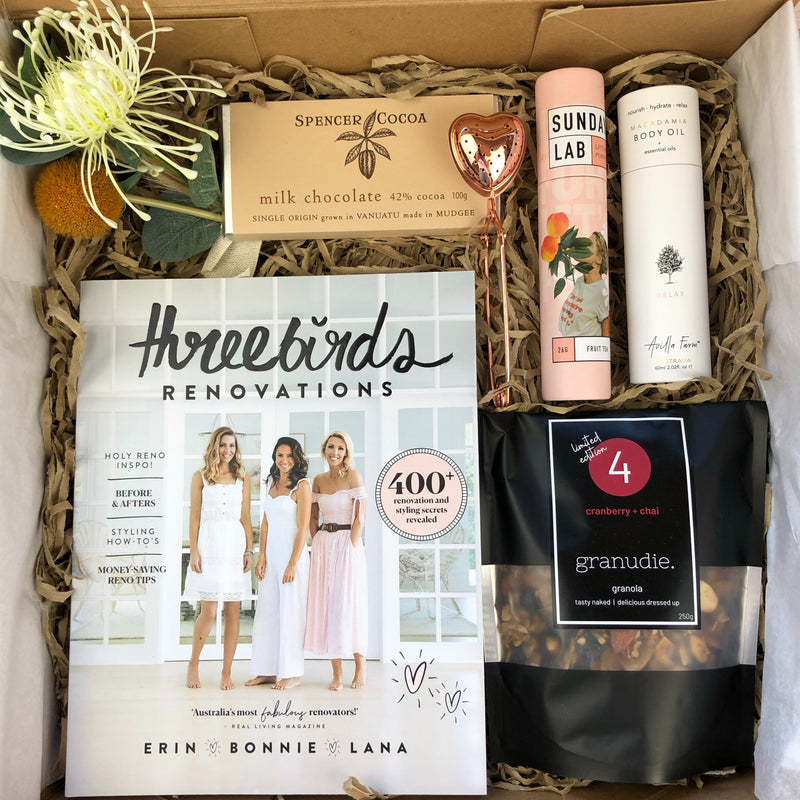 Slow Living Series - Three Birds Renovations gift box includes:
