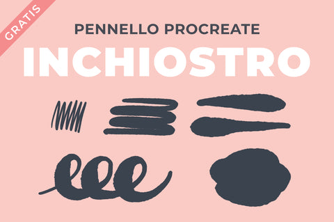 INCHIOSTRO PENNELLO PROCREATE