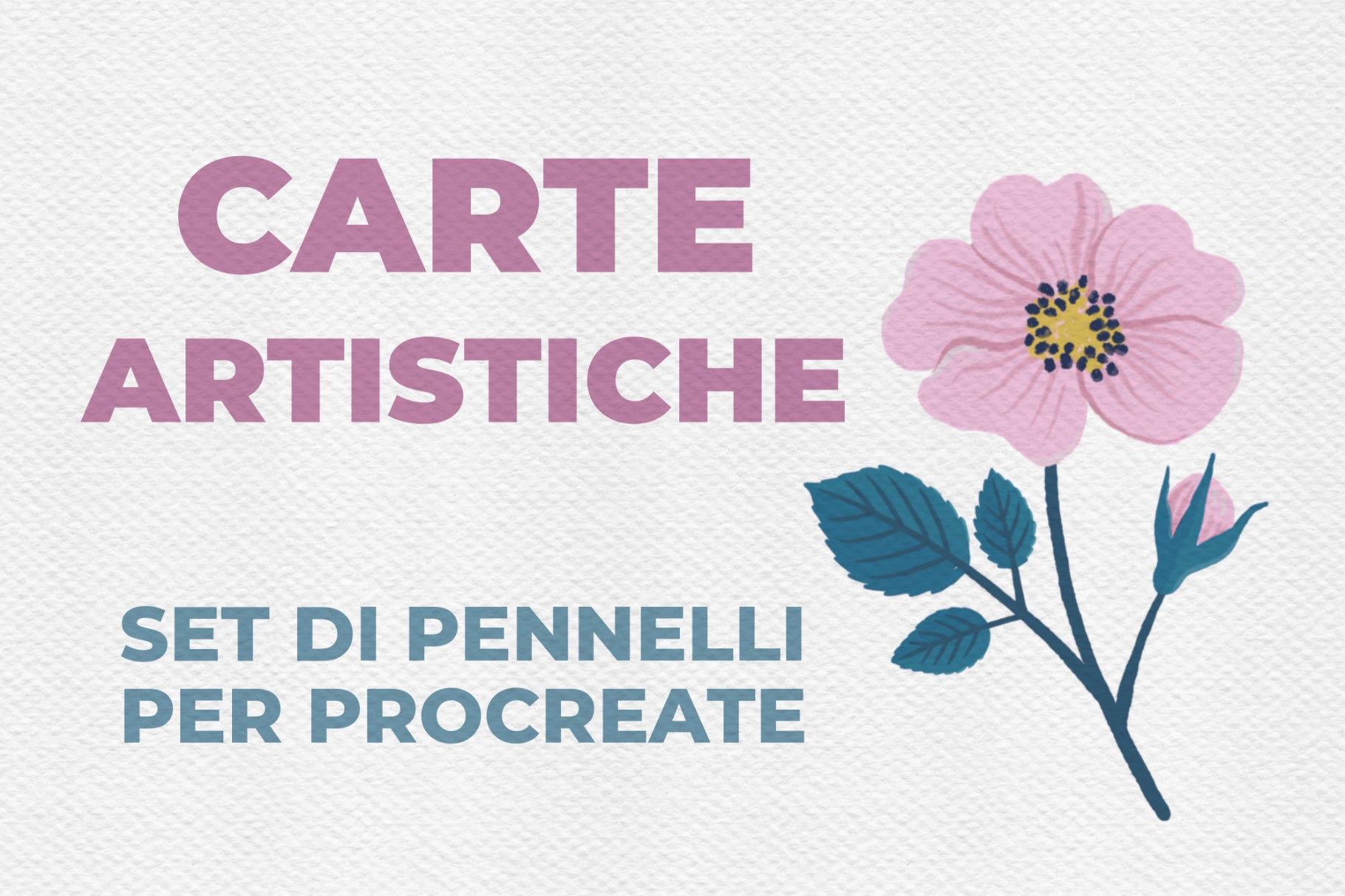 CARTE ARTISTICHE SET DI PENNELLI PER PROCREATE