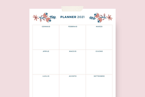 Planner annuale 2021