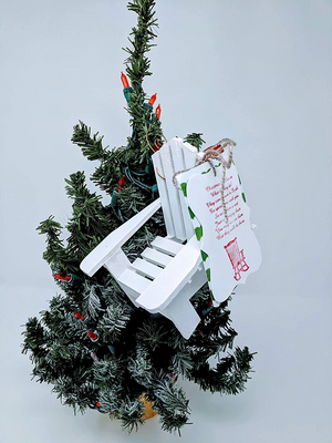 2020 Christmas In Heaven Chair Ornament - Remembrance Gift