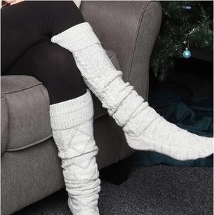 Over The Knee Knit Socks(Many people like to buy 3 pairs)