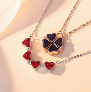 Clover Heart Necklace