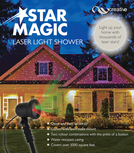 LASER MAGIC STAR SHOWER