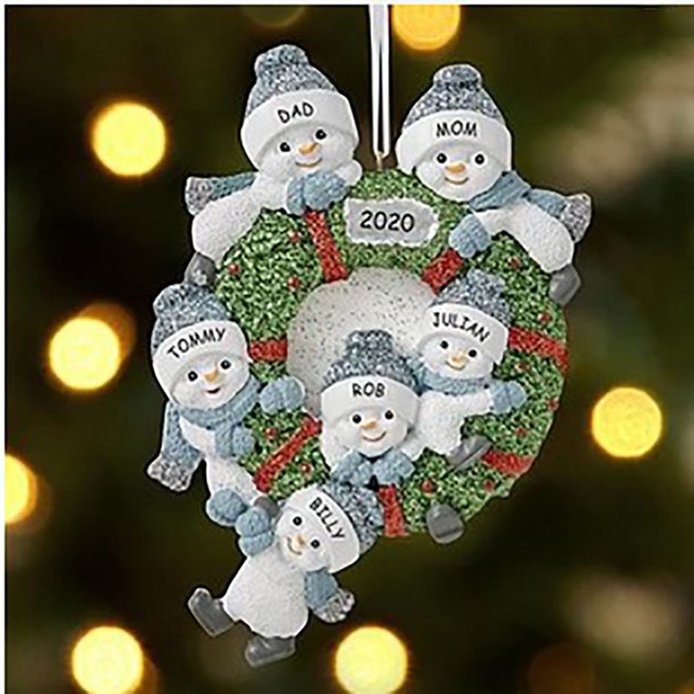 🌟Christmas Hot Sales🌟 2020 Snowman pendant