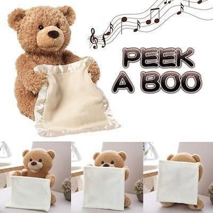 PEEK-A-BOO TEDDY BEAR (BEST GIFT Christmas )