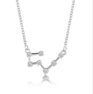 horoscope personalized necklace