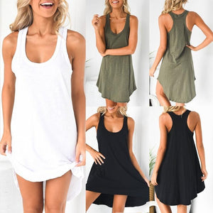 Sleeveless Summer Sleeveless Dress