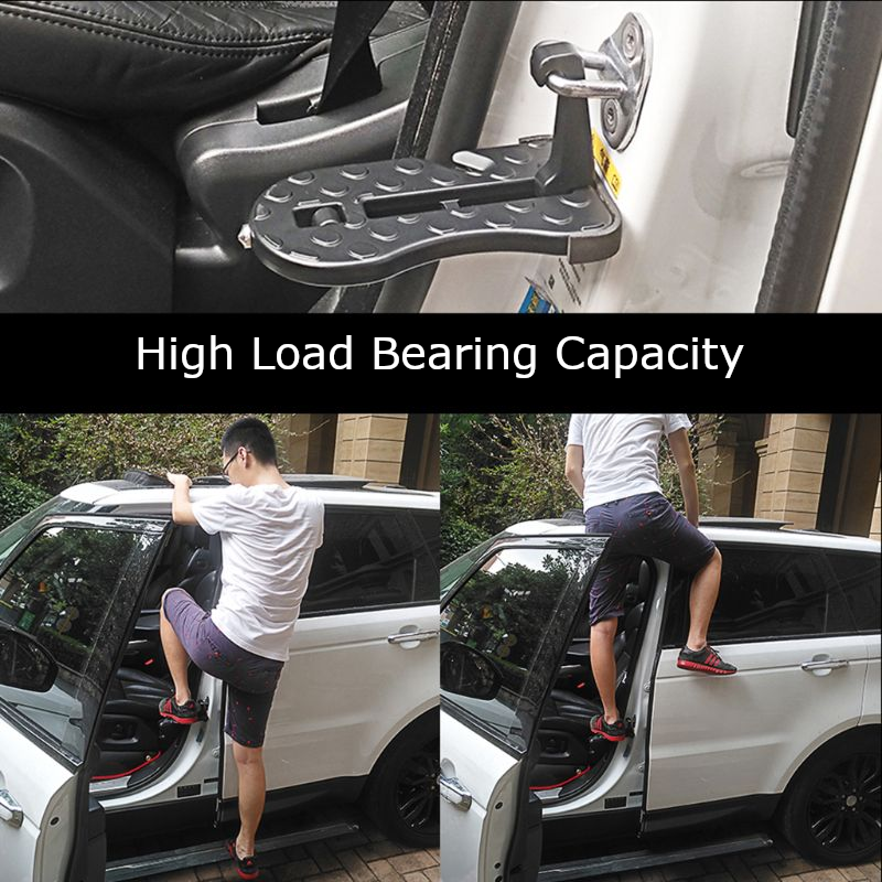 Versatile Vehicle Roof Access Step and Outdoor Multi-Tool