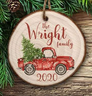 Christmas Ornaments Personalized Gift Christmas Ornament Wooden