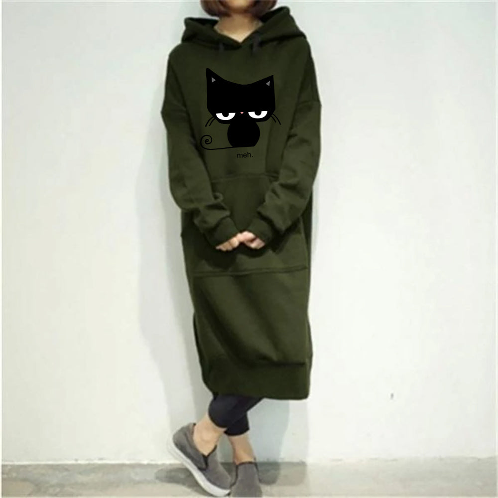 Limited Edition Classic Casual Long Hooded Pullovers