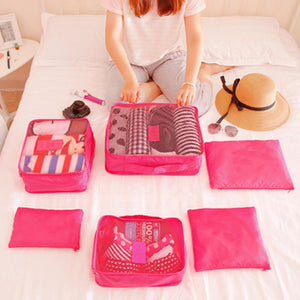 Luggage Organizers- 6-Piece Kit