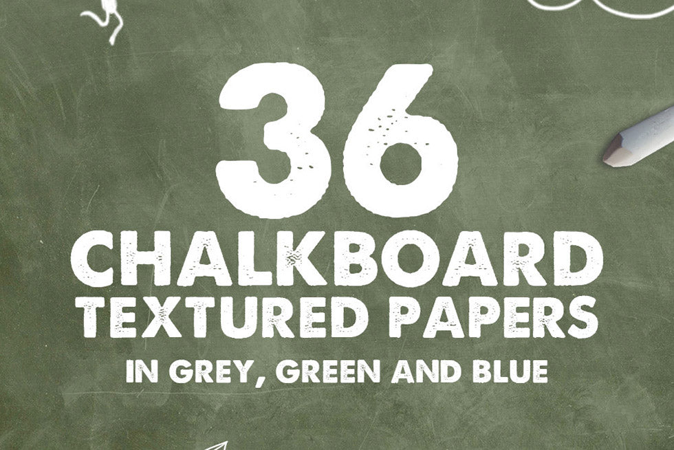 Chalkboard Textures and Backgrounds