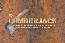 Load image into Gallery viewer, The Lumberjack Wood Texture Pack
