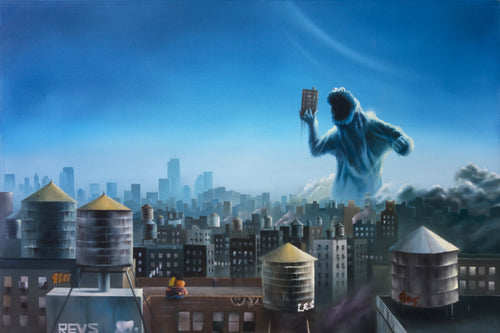 New York Is Good Enough For Me, Oil Painting (SOLD)