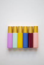 Load image into Gallery viewer, Pretty Pastels Essential Oil Roller Bottle Set