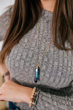 Load image into Gallery viewer, Fluorite Essential Oil Bottle Necklace