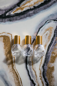 Faceted 5ml Glass Roller Bottle