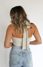 Heat Wave Halter Top