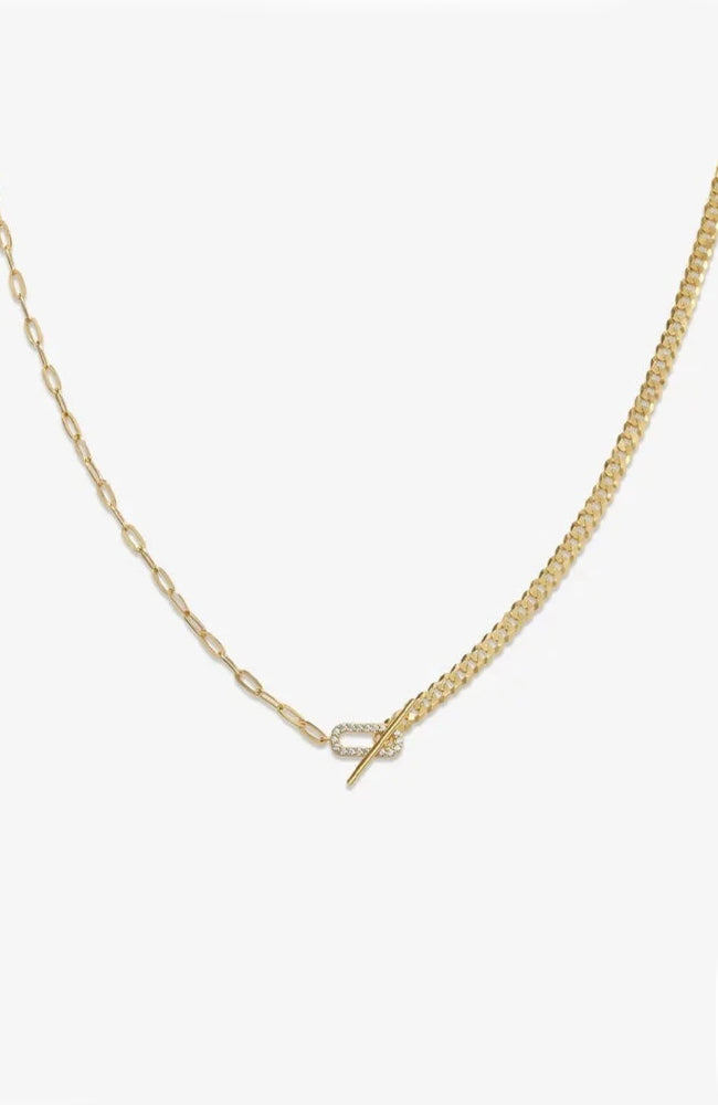 Topanga Toggle Necklace by Malibu Sunday