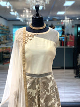 Load image into Gallery viewer, An Elegant White Anarkali
