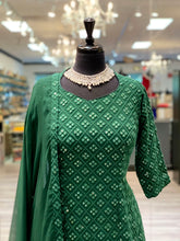 Load image into Gallery viewer, Simplicity Green Gharara