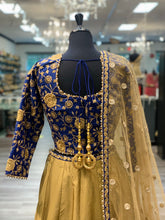 Load image into Gallery viewer, Royal Blue Lengha