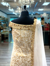 Load image into Gallery viewer, Embroidered White Gharara