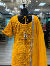 Load image into Gallery viewer, An Elegant Yellow Gharara