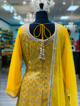 Load image into Gallery viewer, Sequins Yellow Gharara