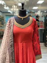 Load image into Gallery viewer, Red Queen Anarkali