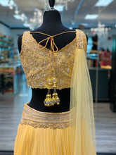 Load image into Gallery viewer, Baby Yellow Lengha