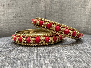 Colourful & Gold Bangles