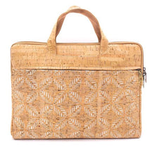 Load image into Gallery viewer, Incredible Cork Laptop Accessory Bag - Hope's Hidden Treasures