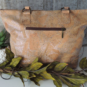 Silver flecked Handbag - Hope's Hidden Treasures
