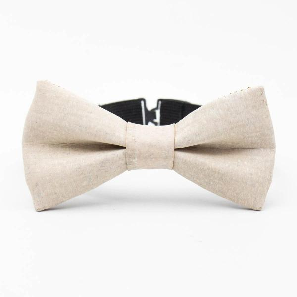 Exclusive White Cork Bowtie - Hope's Hidden Treasures