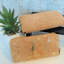 Load image into Gallery viewer, Natural Cork Wristlet/Wallet - Hope's Hidden Treasures