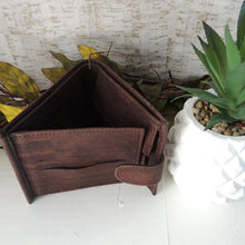 Load image into Gallery viewer, Men's Wallet - Brown - Hope's Hidden Treasures