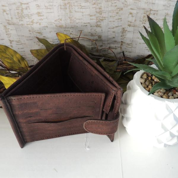 Men's Wallet - Brown - Hope's Hidden Treasures
