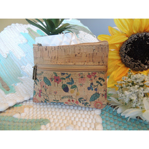 Floral Pattern Coin Purse - Hope's Hidden Treasures