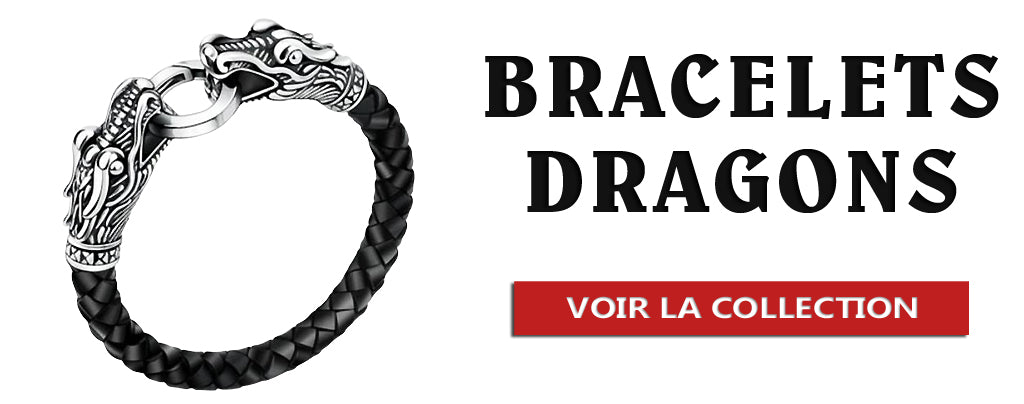 Collection de Bracelets Dragons