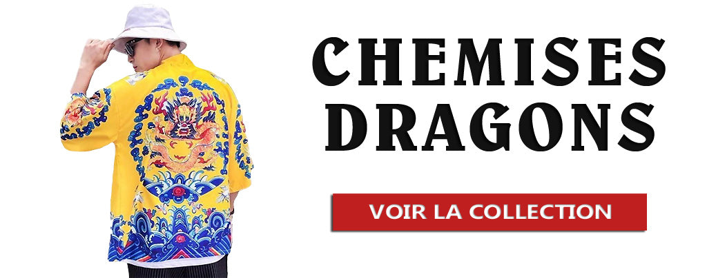 Collection de Chemises Dragons
