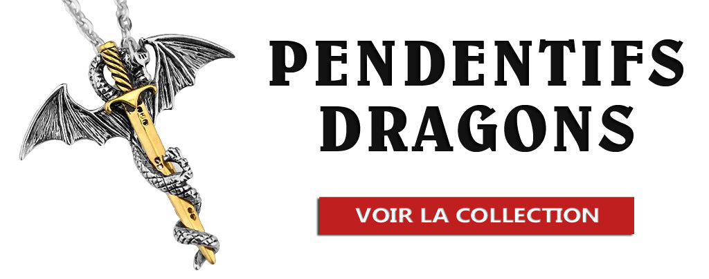 Collection de Pendentifs Dragons