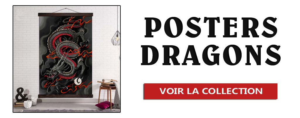 Collection de Posters Dragons