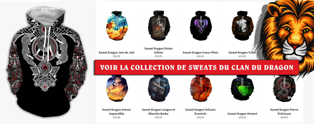 Collections Sweats Clan Du Dragon