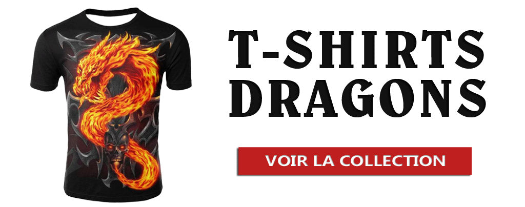 Collection T-Shirts Dragons