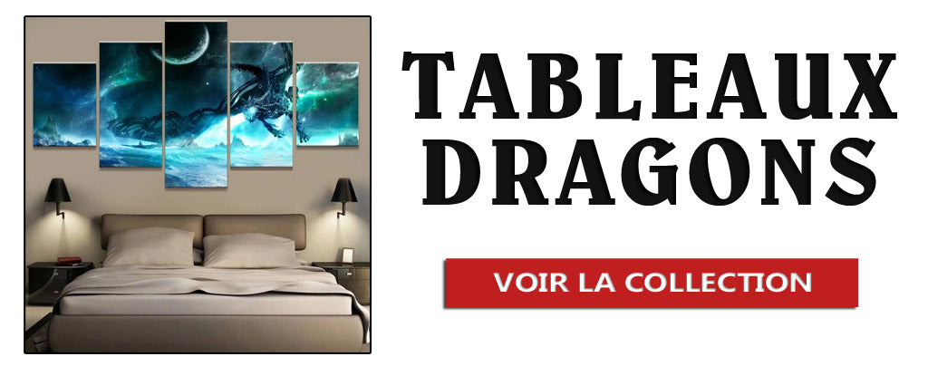 Collection de Tableaux Dragons