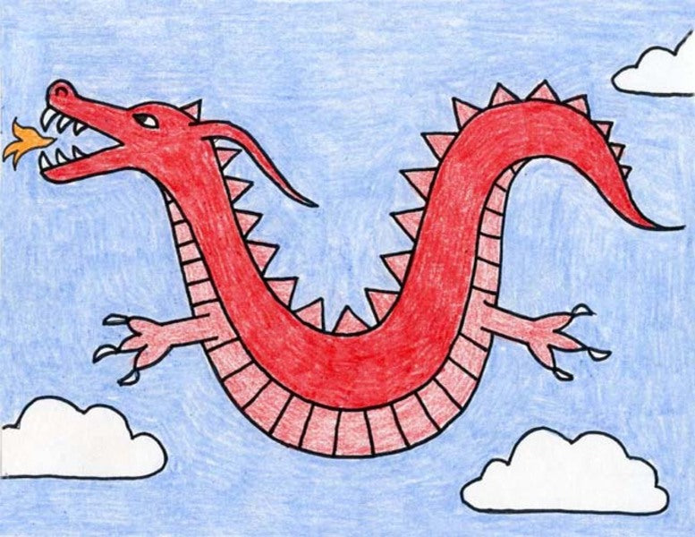 Comment dessiner facilement un dragon